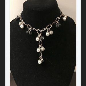Premier Jewelry Beaded Drop Necklace